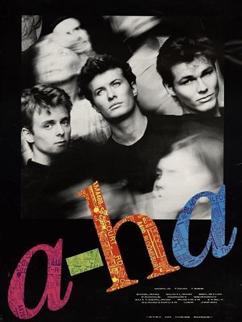 I 1985 gikk a-ha til topps på amerikanske Billboard med Take on me . Siden den gang har de ni studioalbum, 35 millioner solgte, turneer på fem kontinent, guiness-rekord og utallige topplasseringer verden over å se tilbake på.