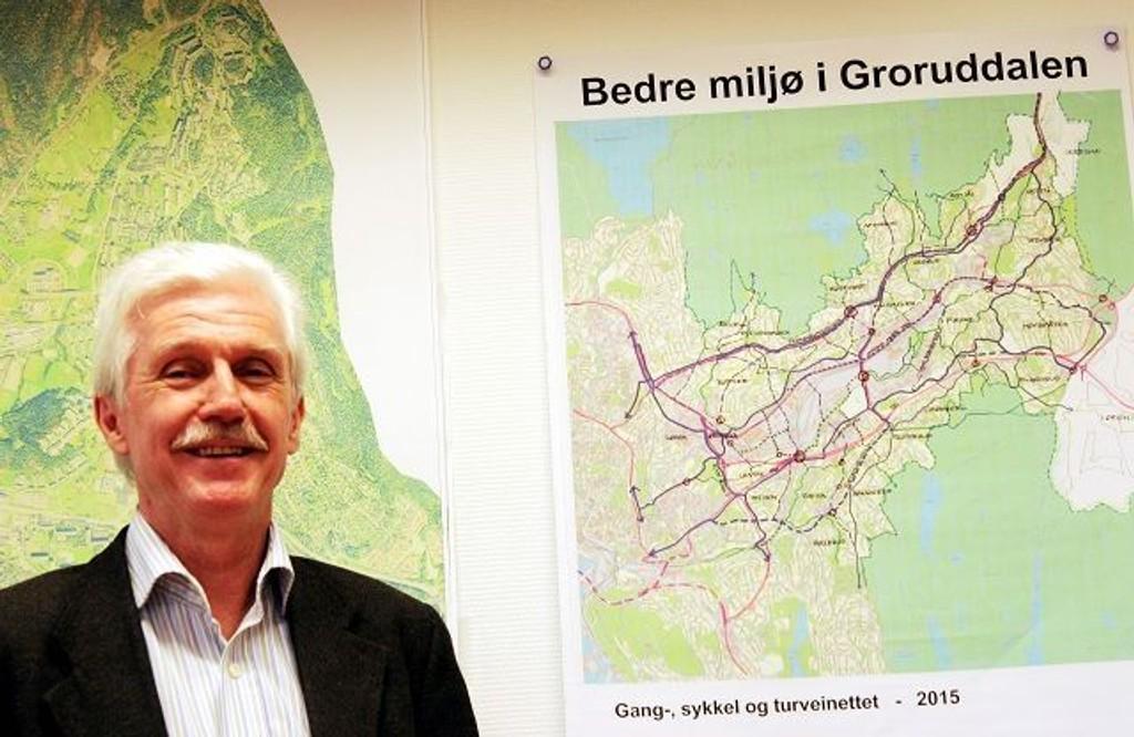 Petter Daae Slipher, prosjektleder i plankontoret for Groruddalssatningen.
