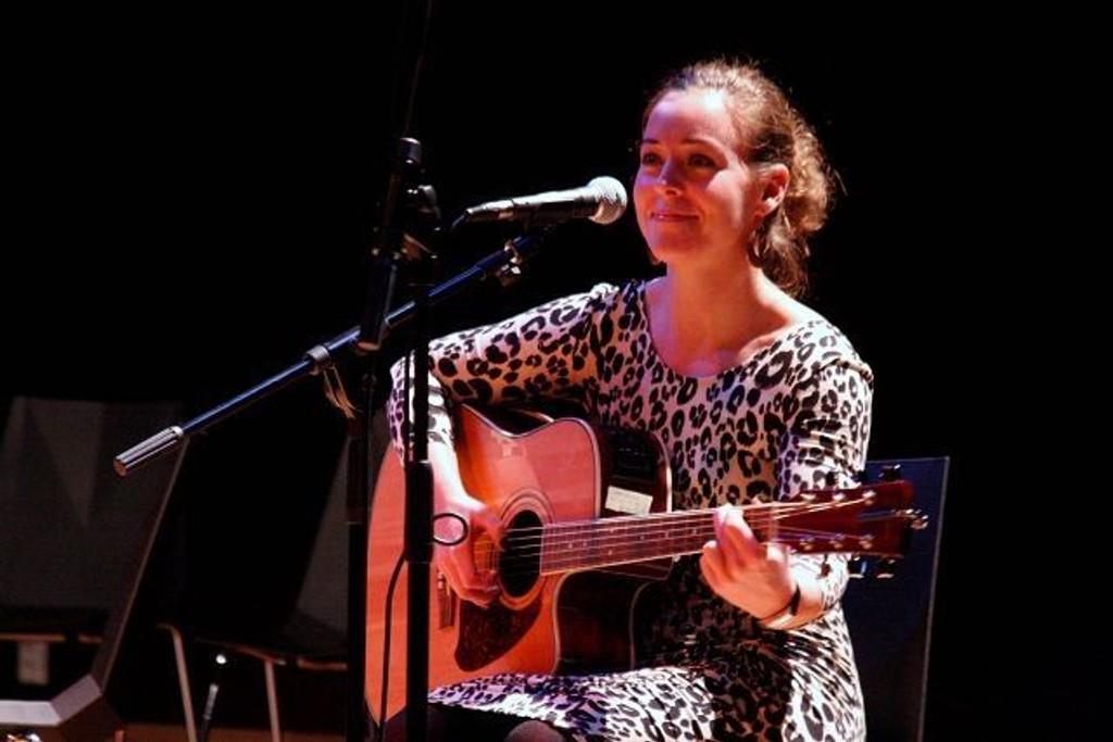 Egen vri: Mari Solberg med egne sanger og andres som hun gjør med sin egen vri.