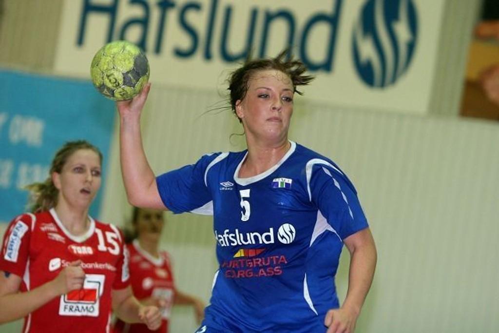 Kristin Engløkken Mainitz scoret fem ganger for Njård mot Tertnes.