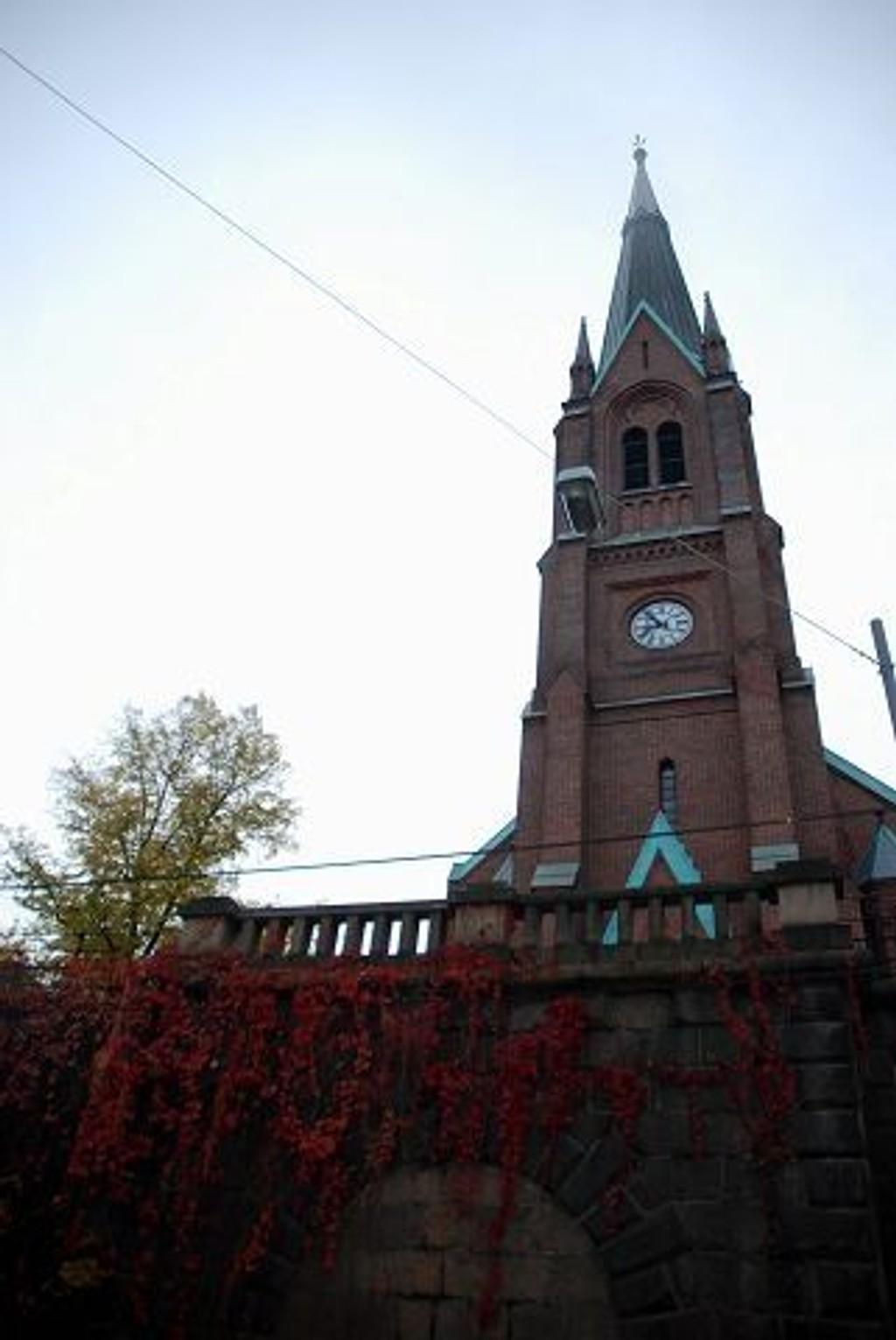 Uranienborg kirke skal totalrenoveres innvendig, og stenges dermed i februar 2011. Foto: Anne Marie Huck Quaye