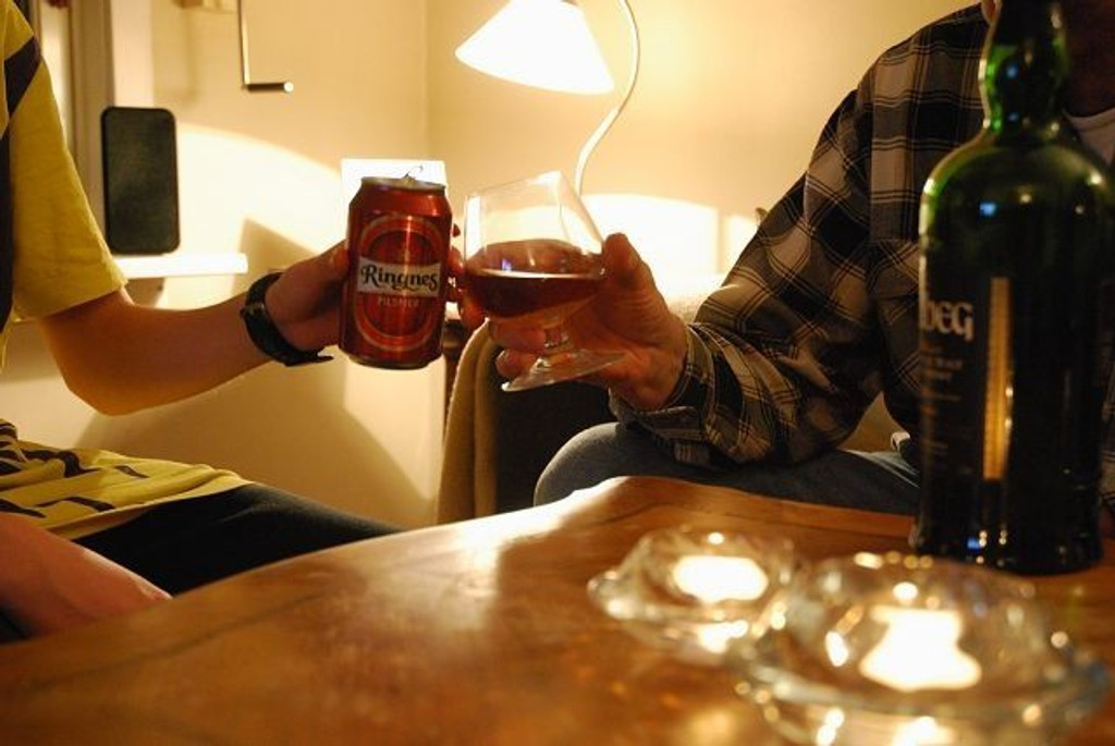 De voksnes holdning til alkohol og deres drikkevaner påvirker barnas forhold til alkohol. Foreldrenes tilstedeværelse og krav om innetider modererer barnas inntak av alkohol.