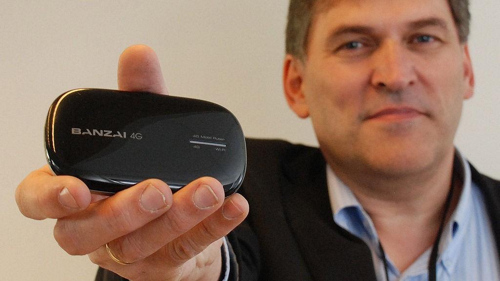 Med dette modemet kobler du datamaskinen din til NextNets mobile bredbånd.