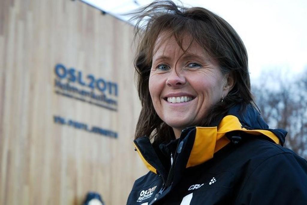 Ski-VM-direktør Åsne Havnelid kan glede seg over én million kroner ekstra til frivillighetsprosjektet til Ski-VM.