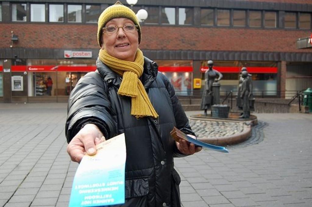 Leder av Fattighuset Johanna Engen elsker å være frivillig. – Det gir meg mening, sier hun til Østkantavisa.