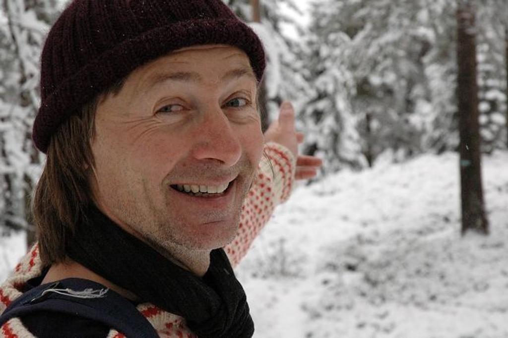 Georg Reiss kommer til Høybråten. FOTO: VIDAR BAKKEN