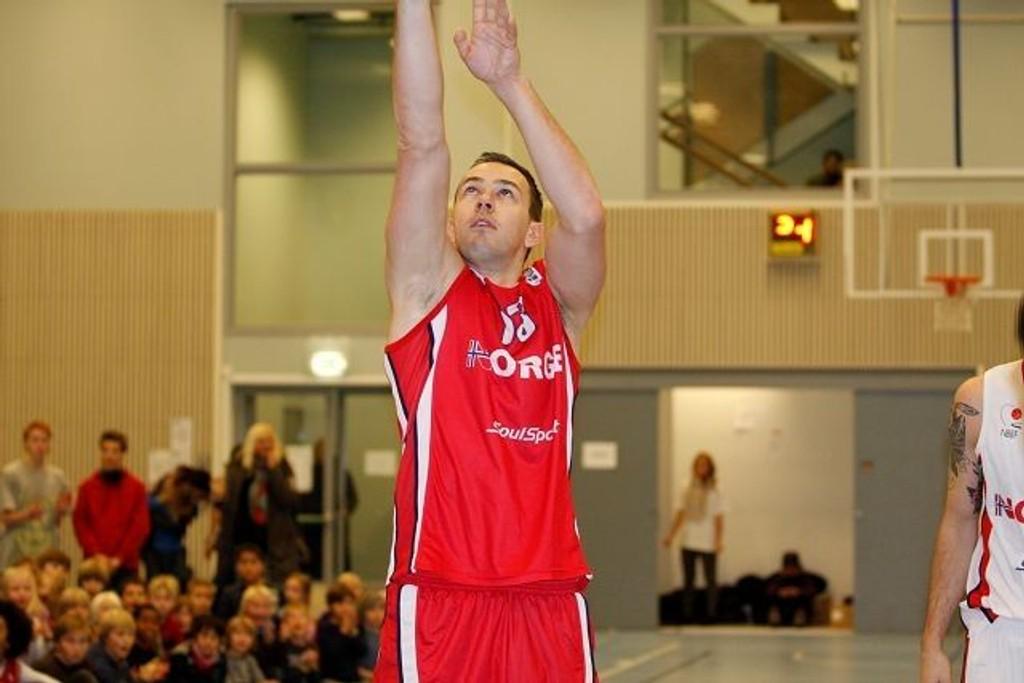Ronny Karlsen ble kåret til Norges beste basketballspiller i fjor.