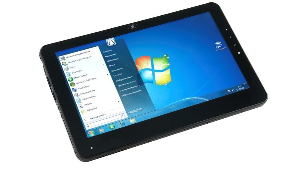 IPAD-KONKURRENT: Kan denne hamle opp med iPad? I November kommer nederlandske AT Technologies med en touchpad basert på Windows Home Premium. © Produsent