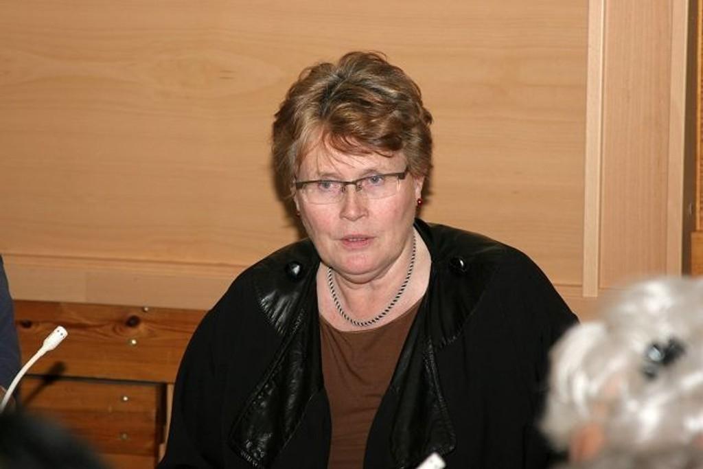 Bydelsdirektør Stovner, Maria Brattebakke.
