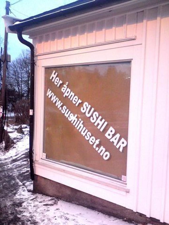 Nytt tilbud: Nordstrand får endelig sitt eget sushisted, når Sushihuset på nyåret åpner med både take-away og bordservering ved Sæter-krysset. Foto: Nina Schyberg Olsen