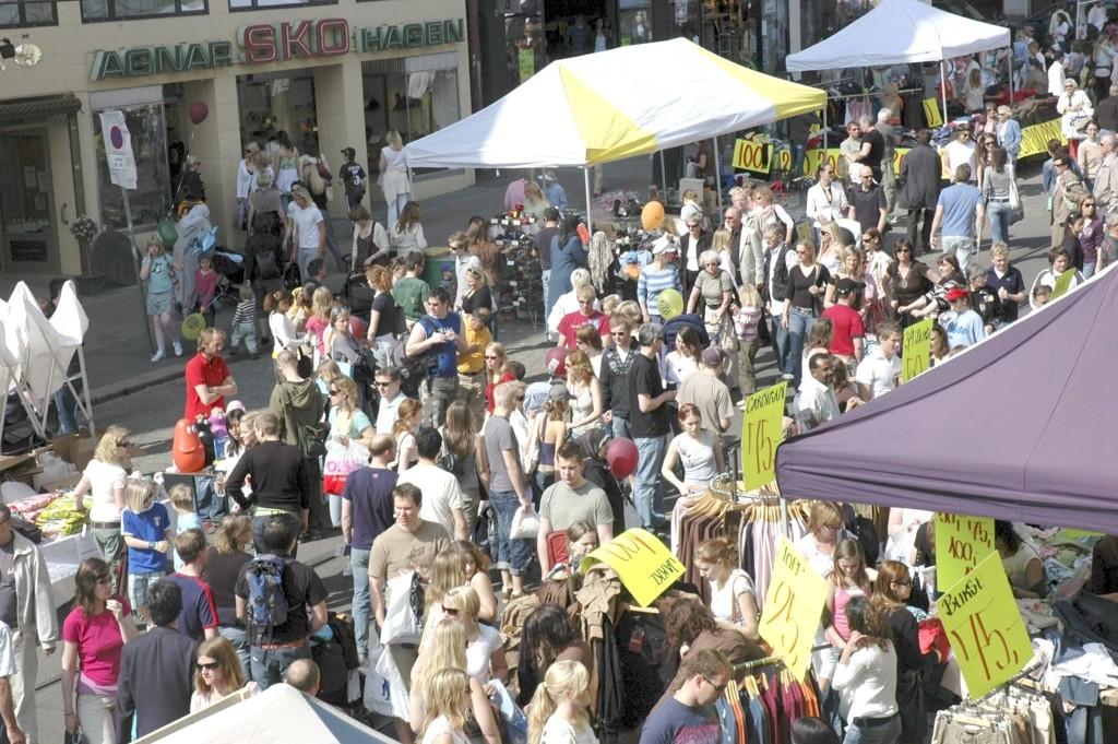 Oslo vokser, snart bor det 600.000 i byen.