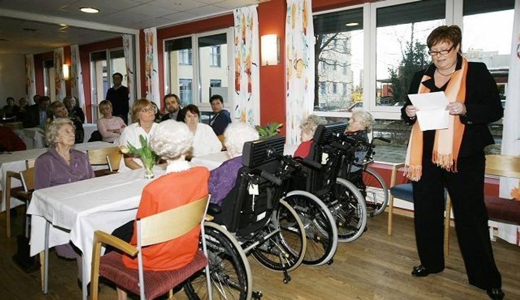 Solvang sykehjem er et av seks sykehjem i Oslo som er med på prosjektet «Etikk i våre hus».