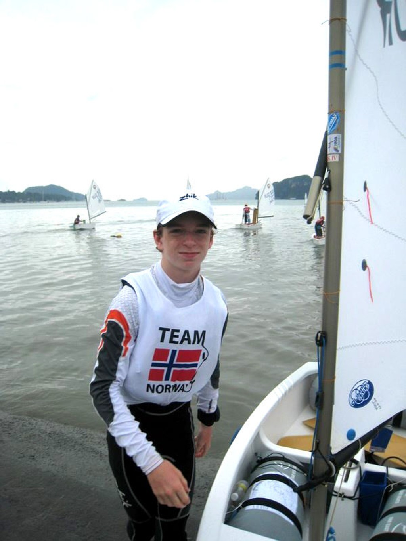 Kristoffer Rosmo (14) fra Nordstrand har gjort sakene sine bra i VM i Malaysia