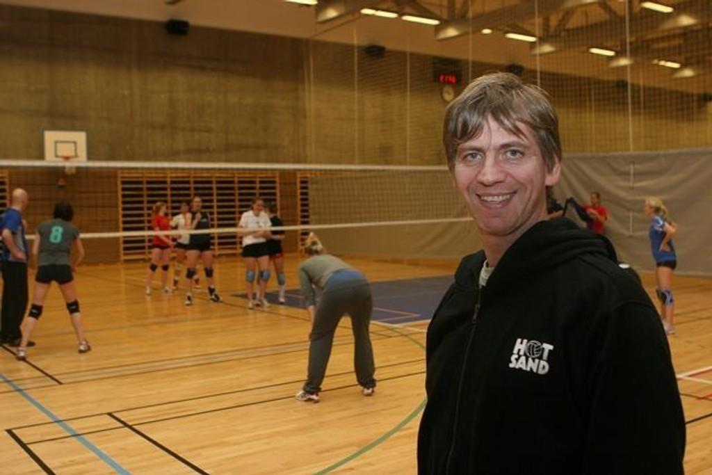 Leder John Walstad er klar for cupfinale i volleyball i F21 på Helsfyr.