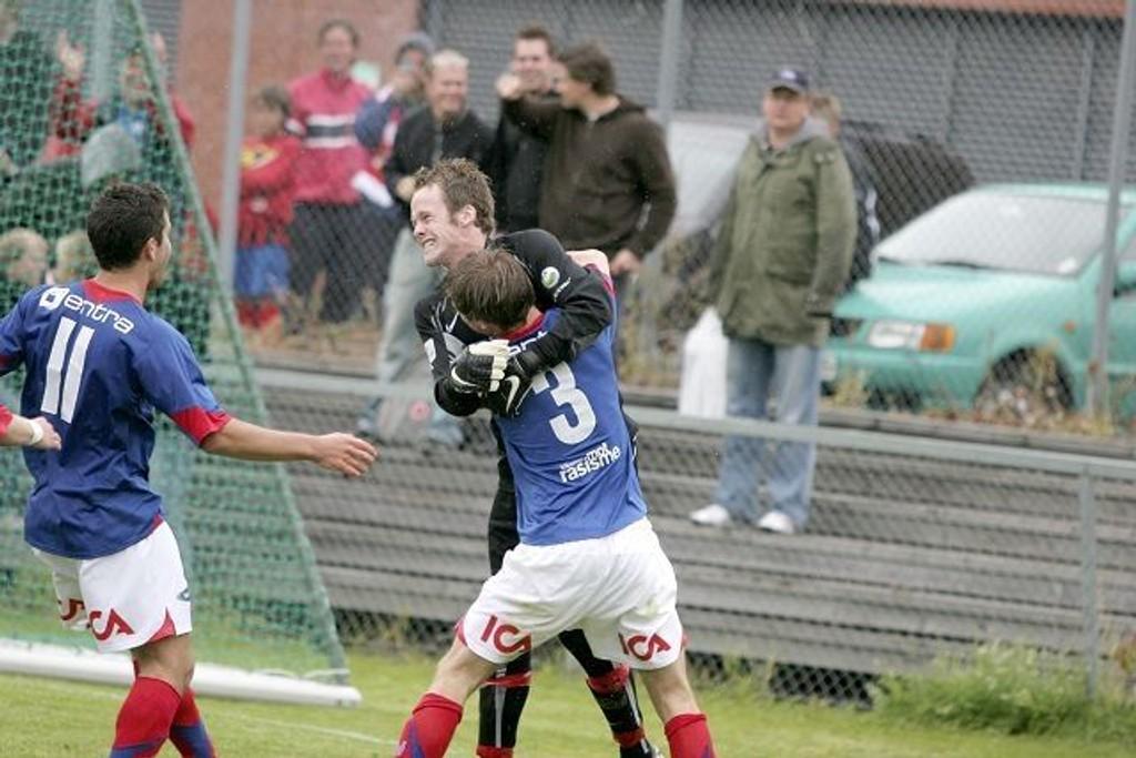 Frode Larsen hadde mange fine år i VIF, men nå søker unggutten nye utfordringer i Kvik Halden.