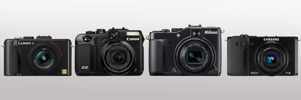 Panasonic LX5, Canon G12, Nikon P7000 og Samsung EX1 er alle meget bra kameraer som er beregnet på entusiaster.