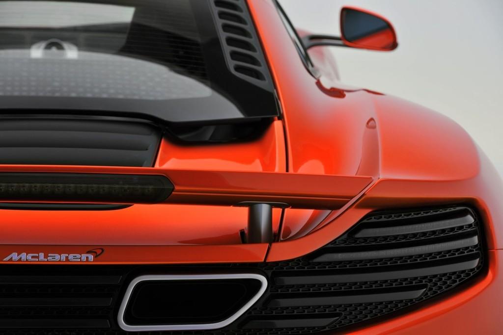 McLarens supersportsbil er utstyrt med en 3,8 liters motor som yter 600 hk.
