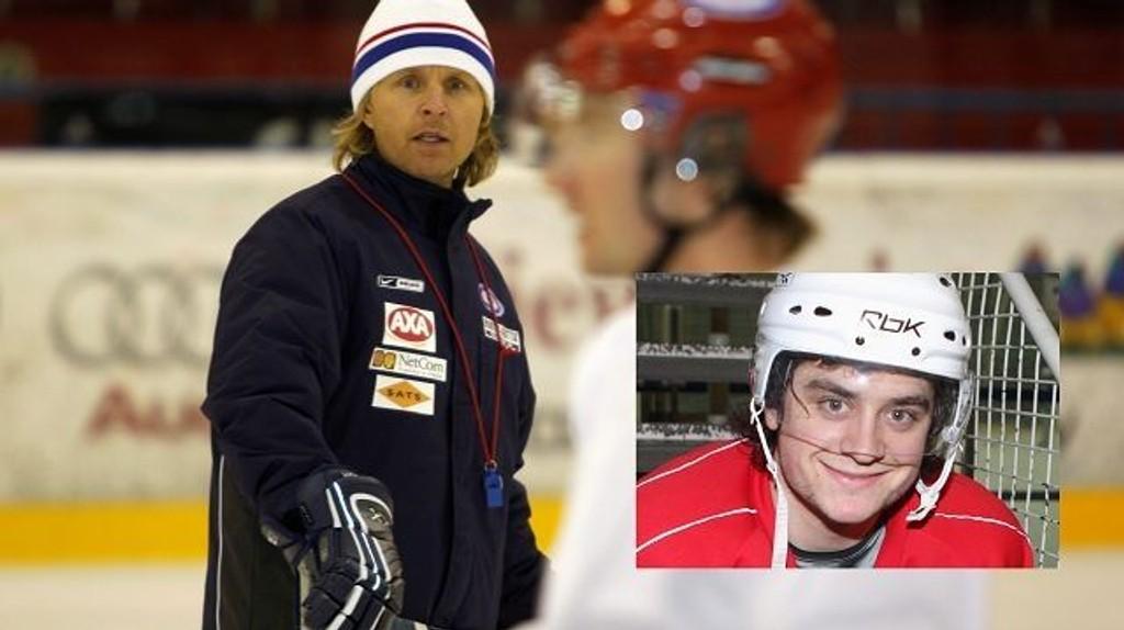 Espen Shampo Knutsen er imponert over hva Mats Zuccarello Aasen fra Hovin får til i NHL.