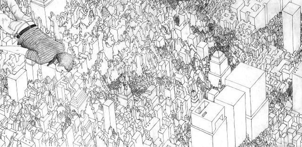 Kast deg ut i Arkitekturens år. «A dream woke me» av Bjørn Hegardt. ILLUSTRASJONSFOTO