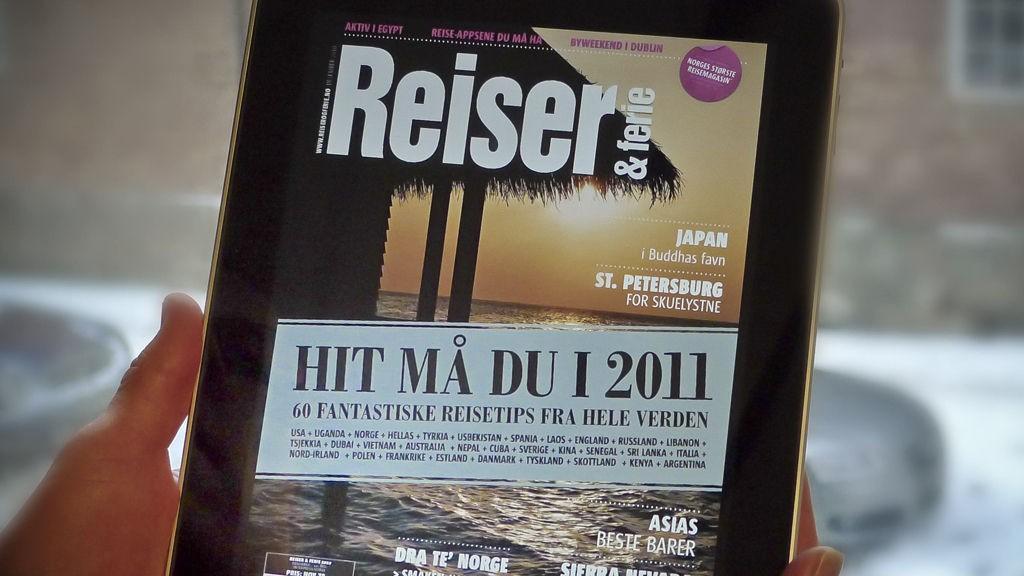 Reiser & ferie i sitt rette element.