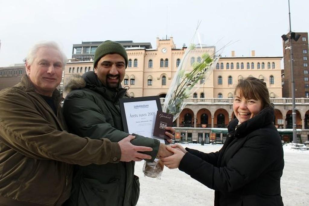 For et år siden var det utekontakt på St. Hanshaugen, Younas Mohammad-Roe, som ble stemt frem til Årets Navn av våre lesere. Hvem fortjener tittelen i år?