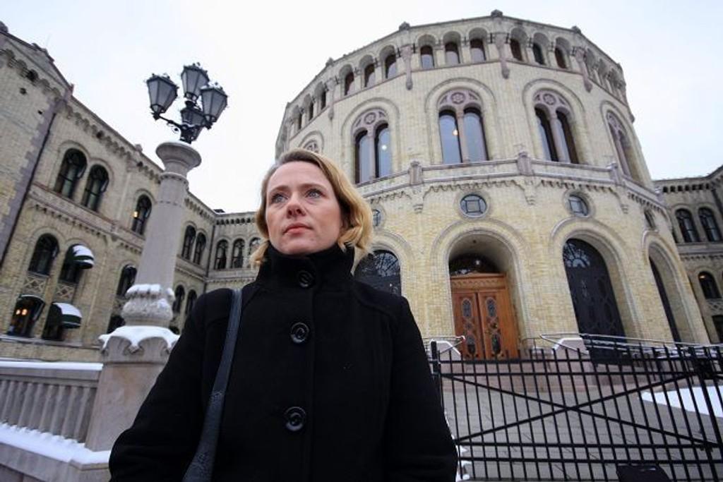 Anniken Hauglie (H) ARKIVFOTO