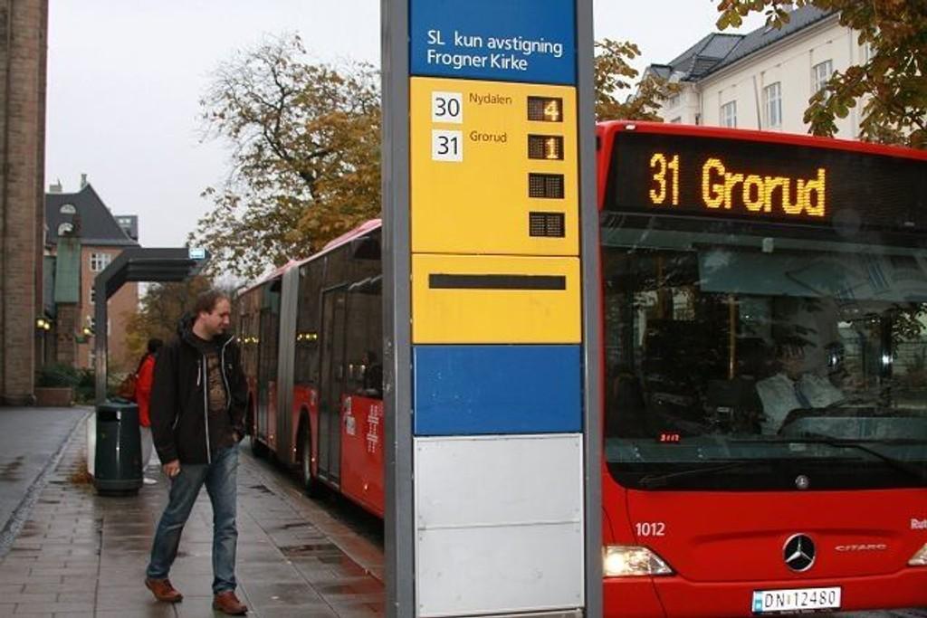 Stovner-politikerne håper på bedre kollektivtransport på Stovner.