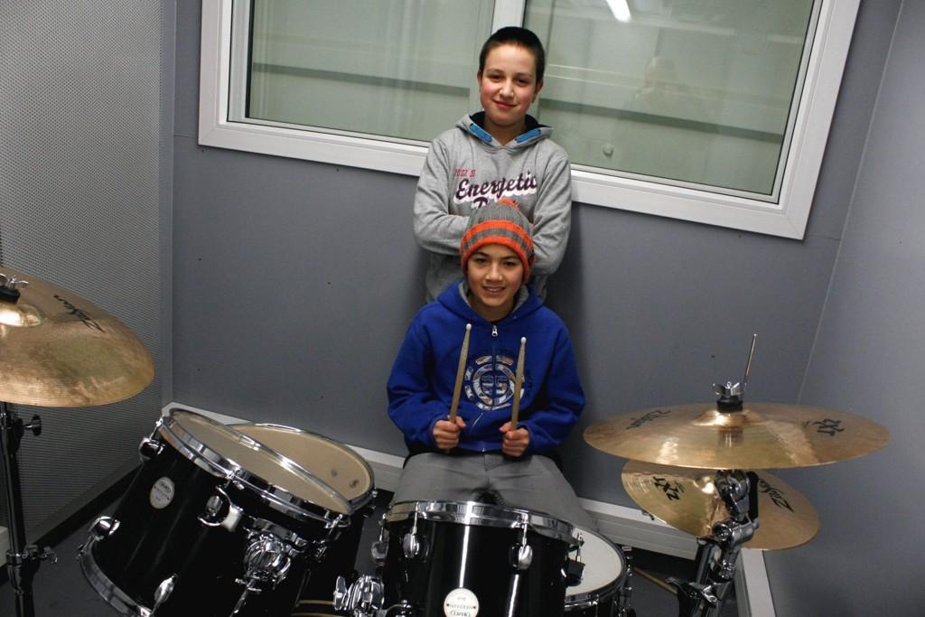 Unge talenter har god nytte av musikkbingen.