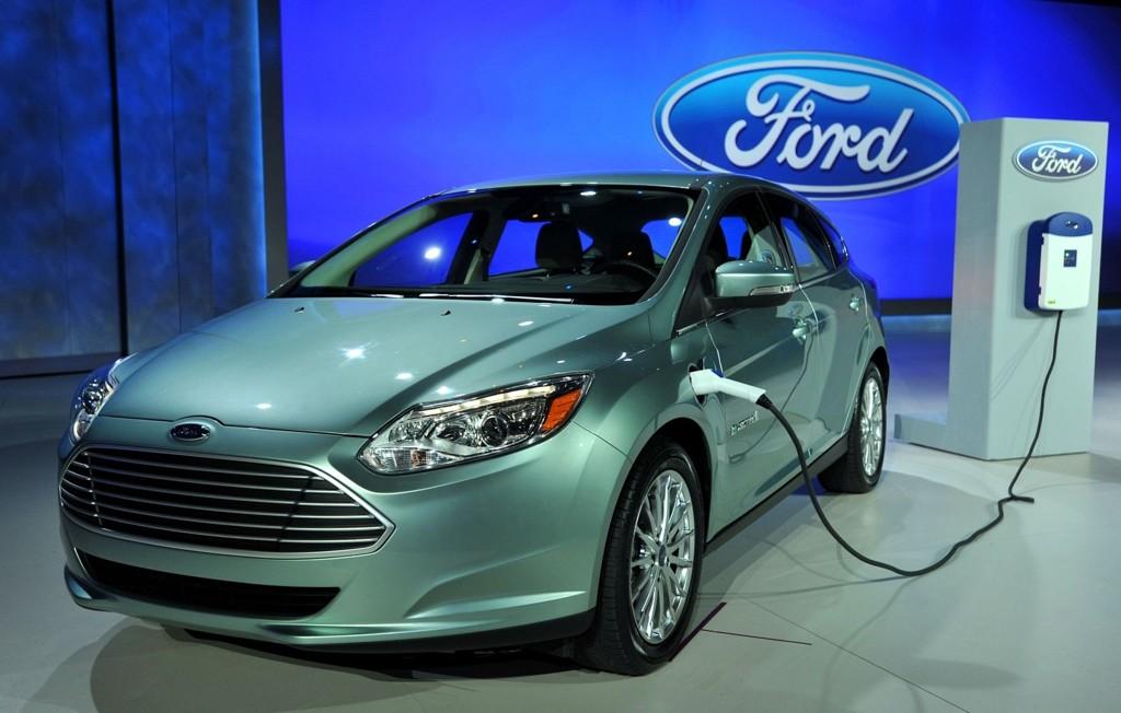 Ford Focus kommer som elbil i 2012.