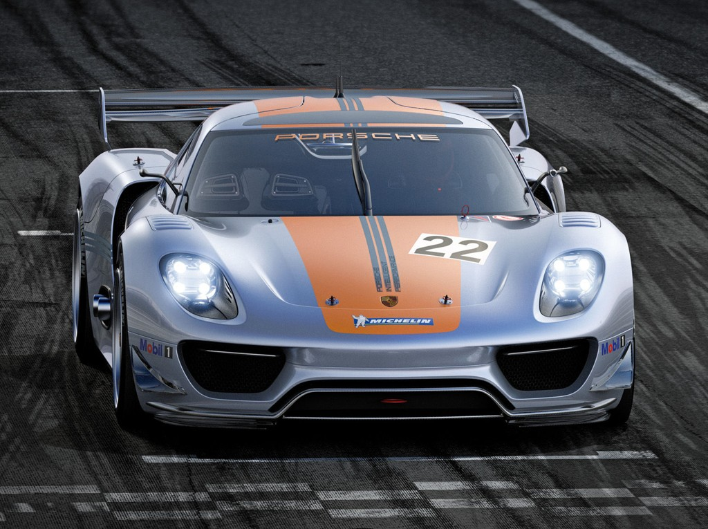 Dette er Porsche 918 RSR.