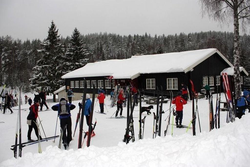 Mariholtet er et populært sted for skiturer i Østmarka. Foto: Steinar Saghaug KLIKK PÅ BILDET FOR Å SE NESTE BILDE