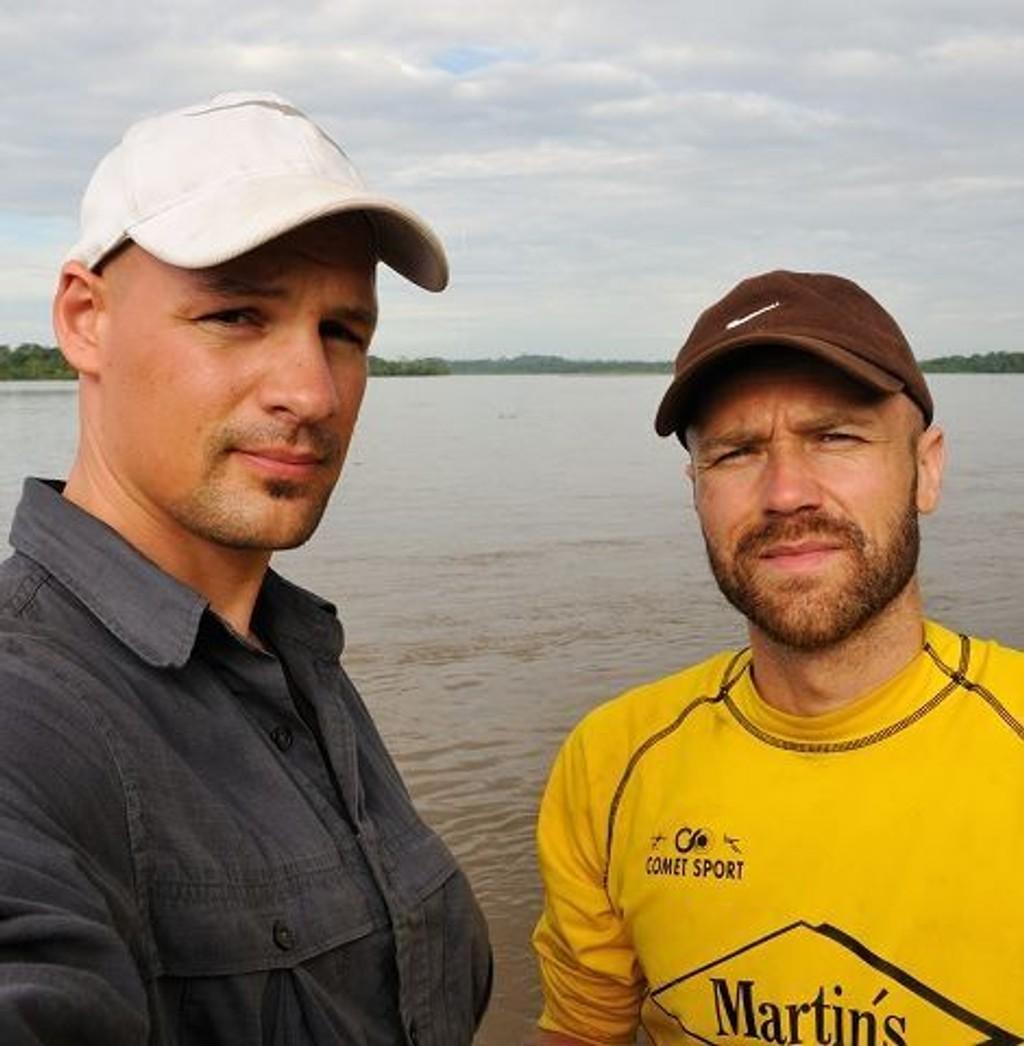 Joel Gillberg (Grünerløkka) og Sølve H. Paulsen (Grefsen) har møtt på mye motgang under sin Amazonas-ekspedisjon, men gir ikke opp av den grunn.
