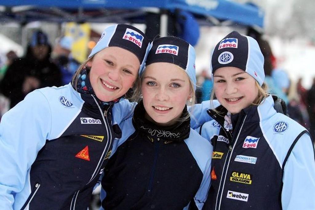 Thea Marie Wiger (venstre), Vida Tjøgersen og Karianne Moe fra HSIL.
