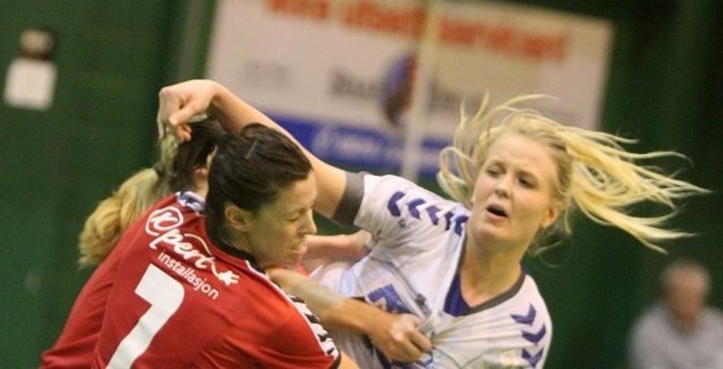 Christine Homme scoret seiersmålet for NIF i kampens aller siste sekund.