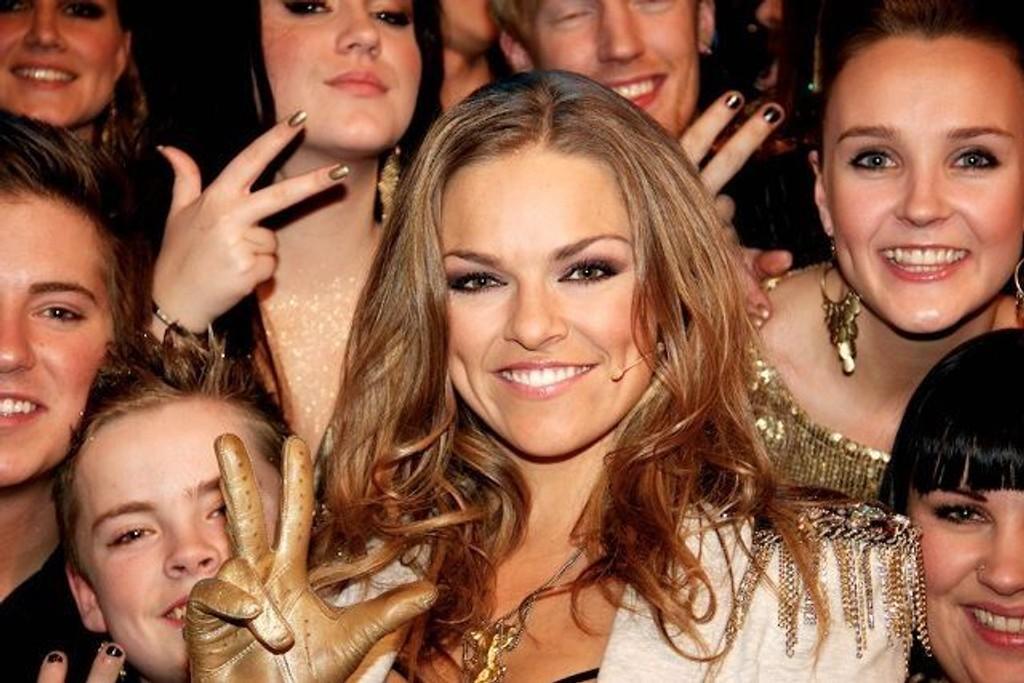 Anine Stang lover knallshow om de går videre i Det Store Korslaget på fredag.