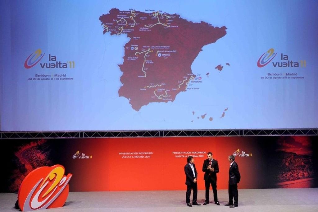 HELE RUTEN: Vuelta-ruten anno 2011 er variert. Ni flate etapper, ti kuperte etapper (deriblant seks fjellavslutninger), èn tempoetappe og lagtempoen som åpner hele rittet 20. august.