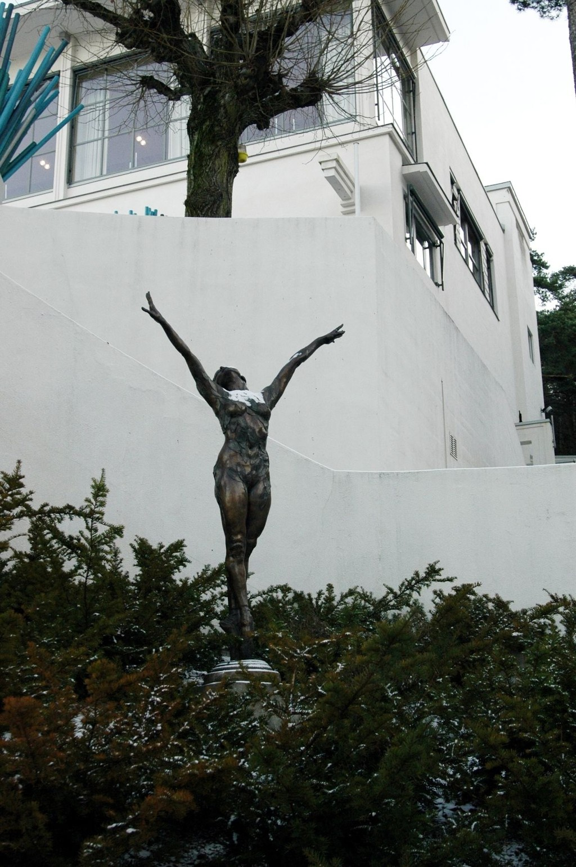 Den planlagte skulpturparken på Ekeberg skaper debatt. Her fra Ekebergrestauranten.