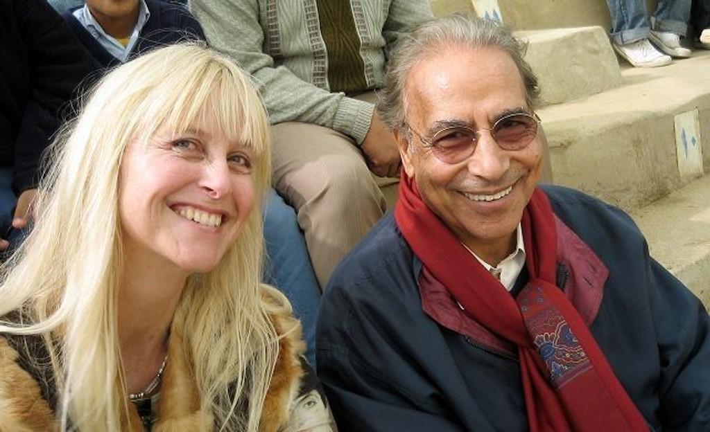 Ragnhild Nilsen og grunnlegger av Sekem, Ibrahim Abouleish fra Egypt. Abouleish har lenge jobbet for biodynamisk jordbruk og Fairtrade. Nilsen har samarbeidet med Sekem om å gjøre prosjektet mer kjent i Scandinavia.