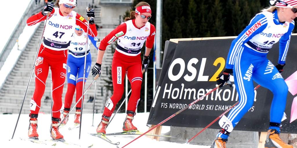 Celin Brun-Lie virker å være i rute før VM i Holmenkollen. Her fra prøve-VM i fjor.