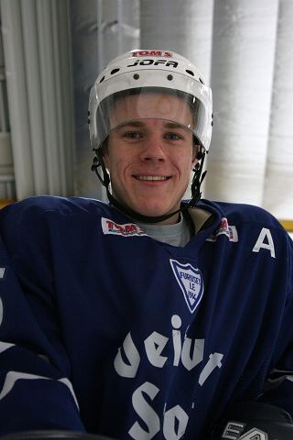 Kristian Forsberg gjør det godt i svensk ishockey.