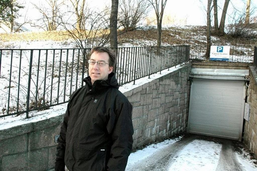 Rune Aale-Hansen mener kommunalt parkeringshus på St. Hanshaugen er stikk i strid med grunnideologien til Venstre. ARKIVFOTO