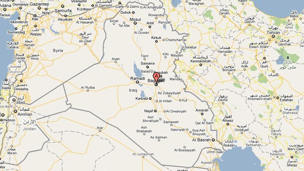 Det var i den irakisk hovedstaden Baghdad en bilbombe ekspolderte torsdag