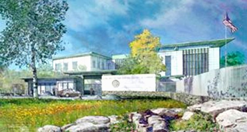 Kongressen har vedtatt å finansiere ambassaden i Husebyskogen.