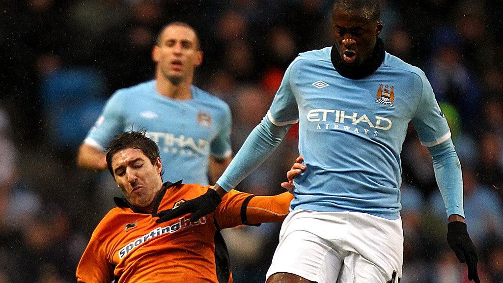 BEDRE ENN BARCA: Yaya Touré mener City kan bli bedre enn Barca om noen år.