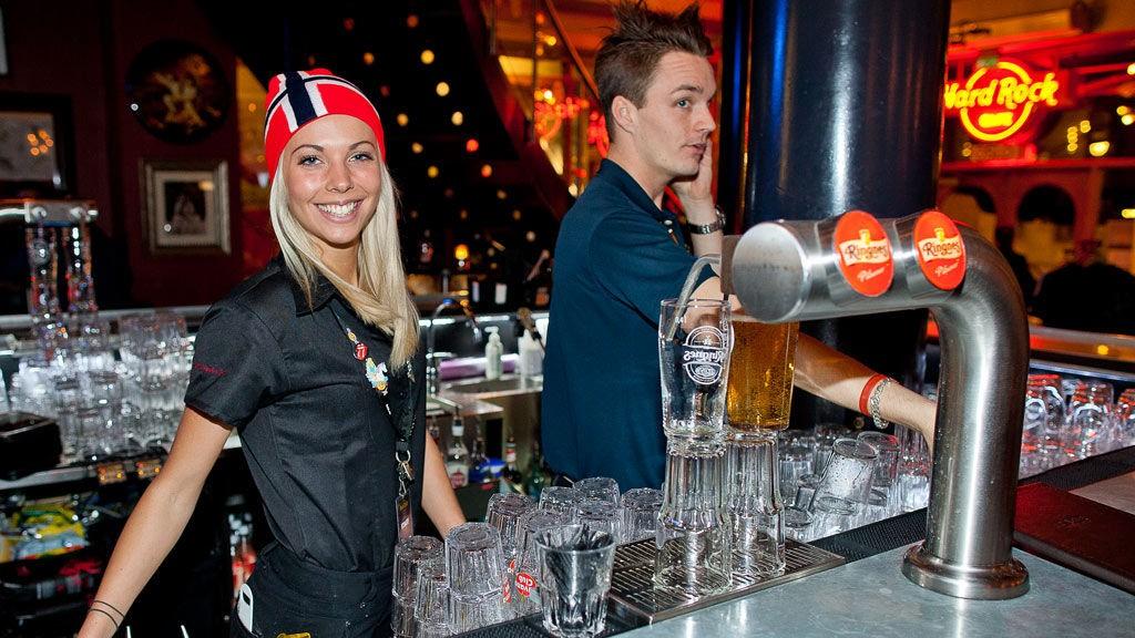 Hard Rock Cafe Martina Bergström