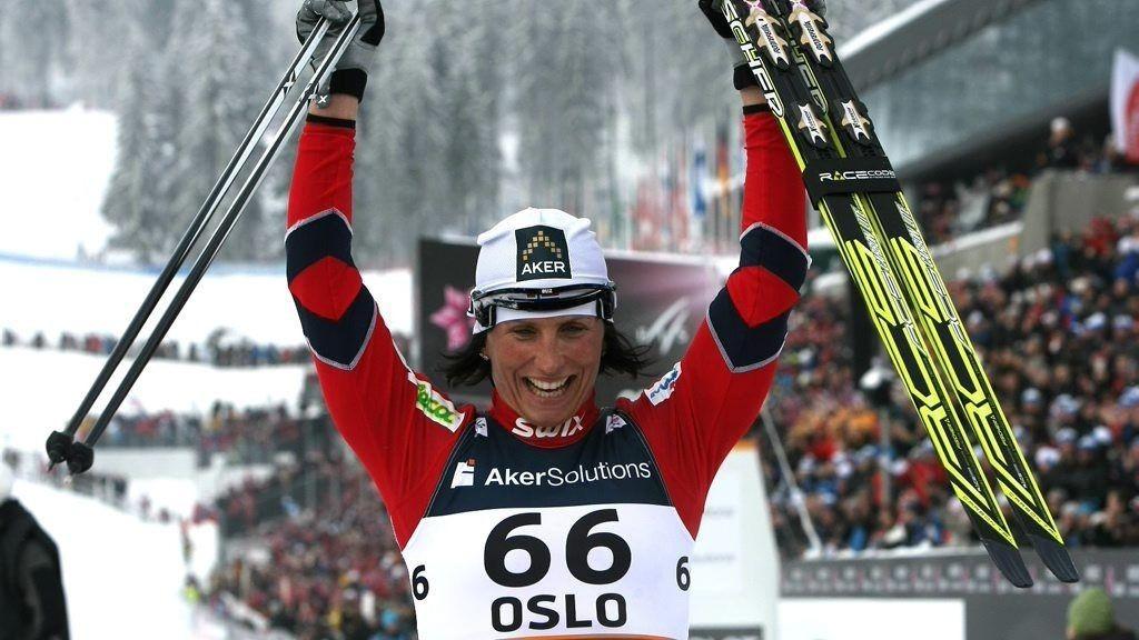 TØFF AVGJØRELSE: Marit Bjørgen står over lagsprinten. Det gjør at hun ikke har mulighet til å slå Jelena Välbes rekord fra 1997.