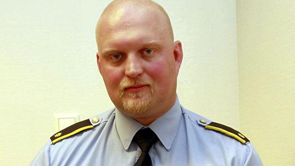 IKKE IMPONERT: Politiførstebetjent Gunnar Foseid om 24-åringens forsøk på å slette alle spor.