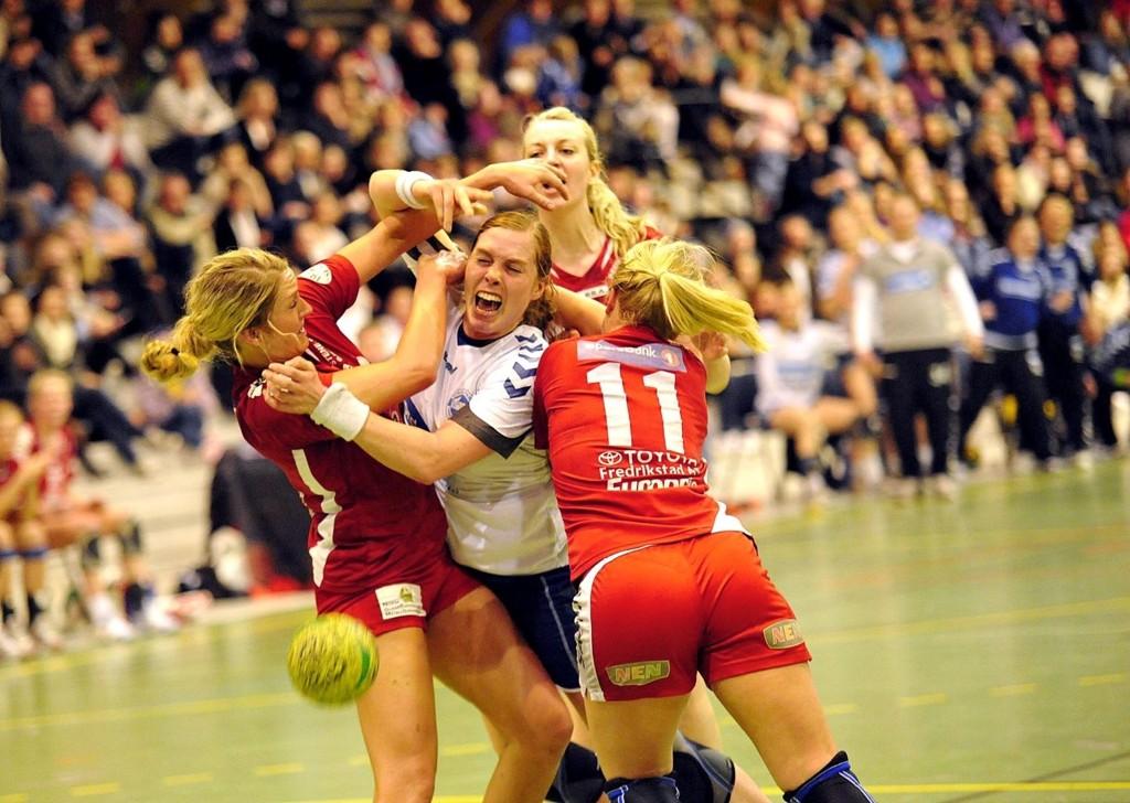 Else Marthe Sørlie Lybæk og Co. fikk tøff behandling av Fredrikstad i andre omgang.