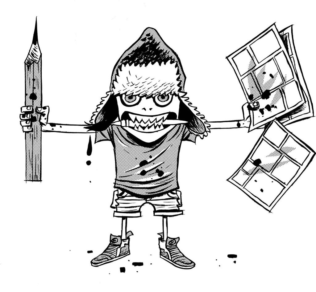 Bli med på tegneseriekurs.