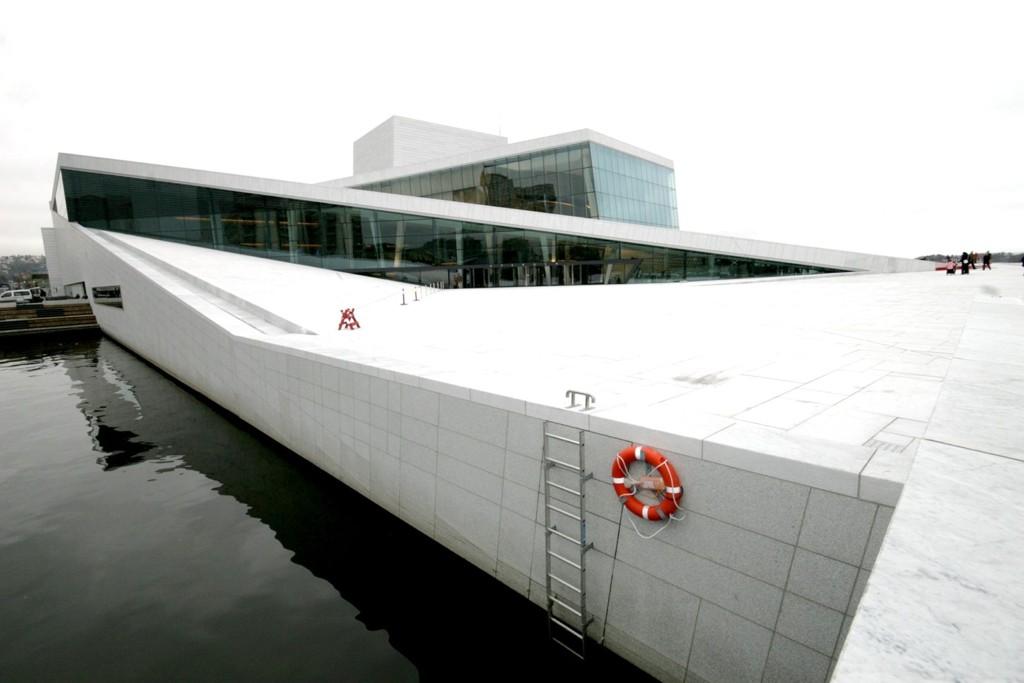 Operaen i Bjørvika deltok i Earth Hour.